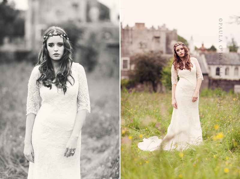 Irish vintage wedding style