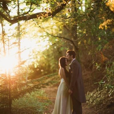Stuart & Kim ~ Intimate Ghost Room wedding
