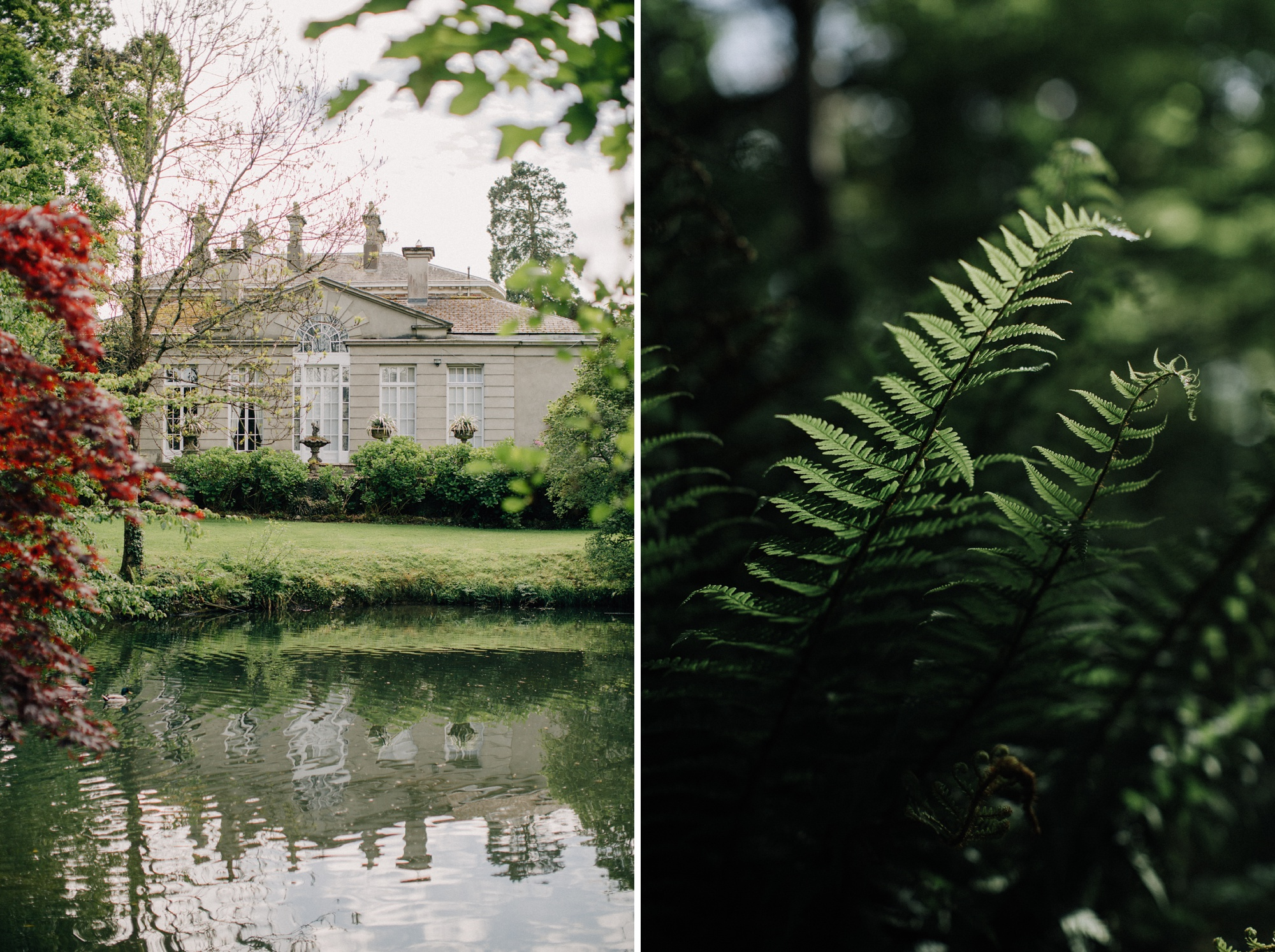 marlfield house - irish wedding