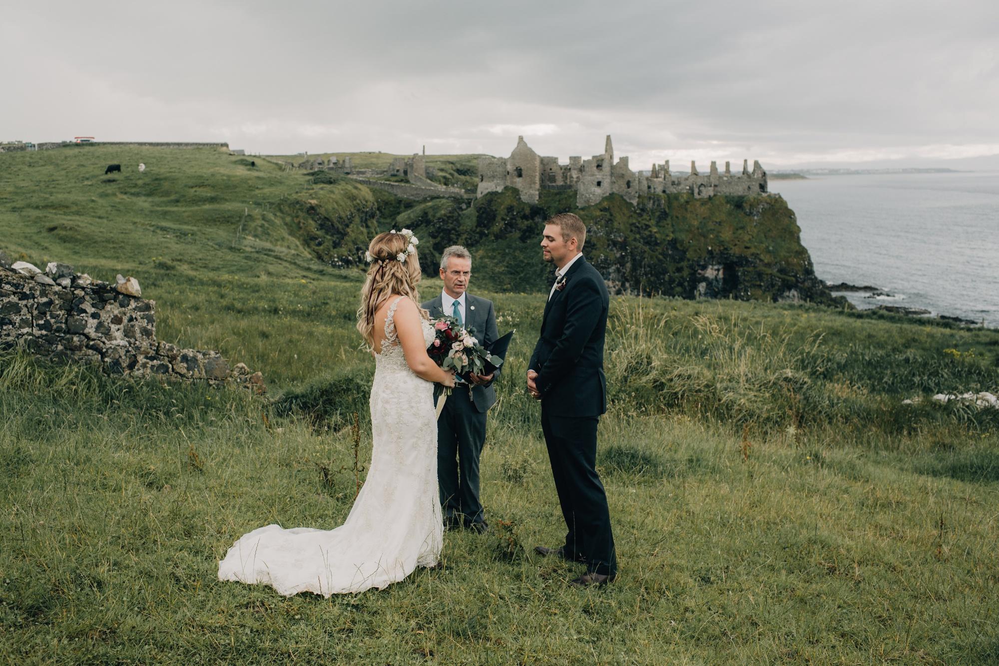 Kristina & Jeffrey - Dunluce Castle Elopement