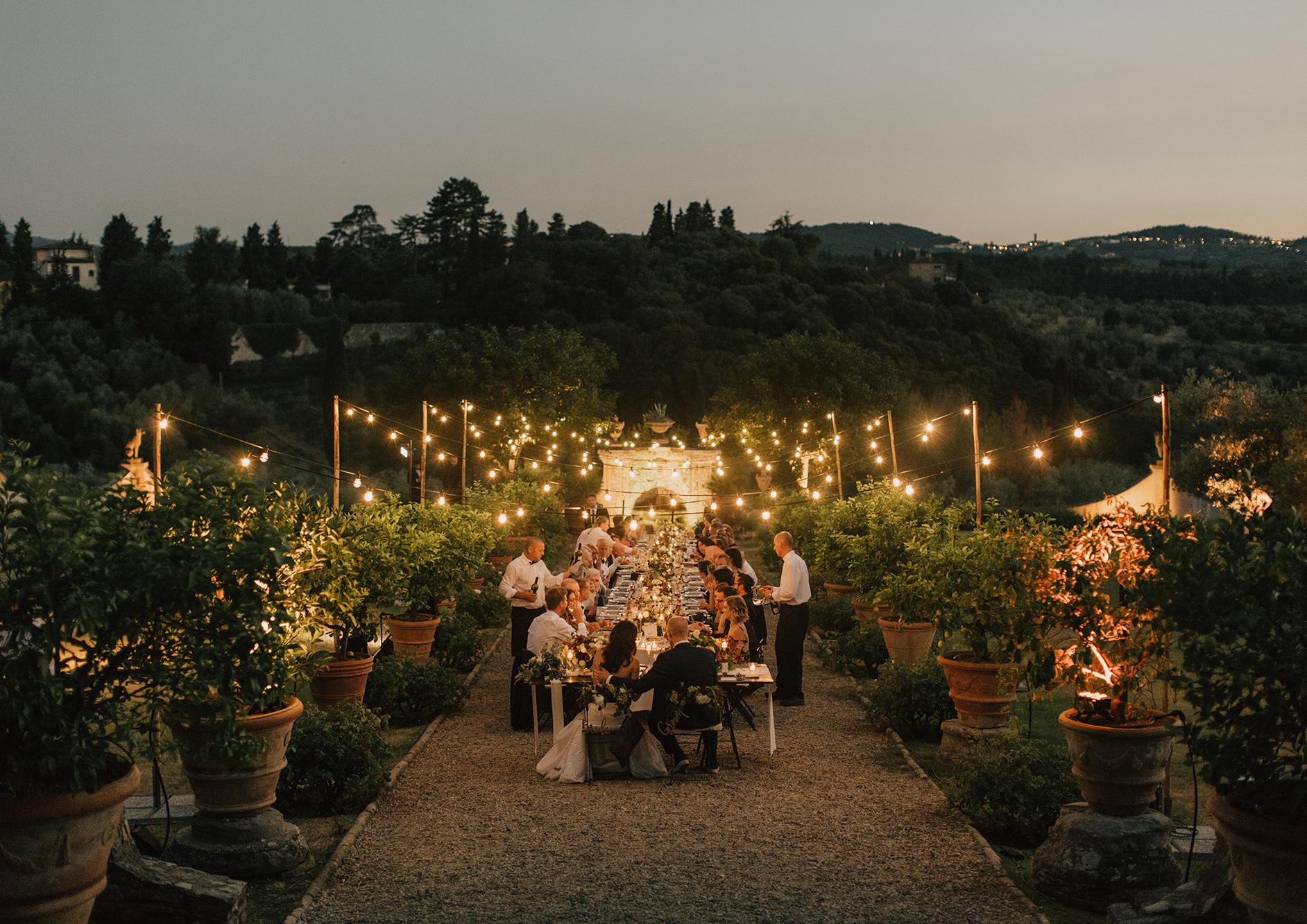 Brittany & Jesse's Villa Medicea di Lilliano Wedding
